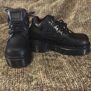 Dr. Martens Black Short Boots